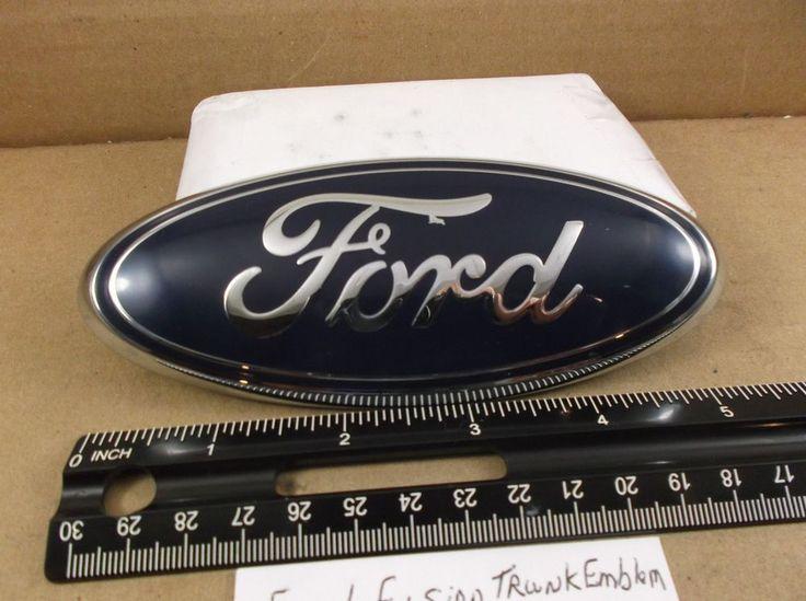 2011-2015 Ford Fiesta Sedan Rear Trunk Emblem #AE83-15402A16-AC logo badge  J260 #Ford