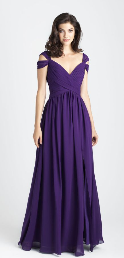 Featured Dress: Allure Bridals; Bridesmaid dress idea.