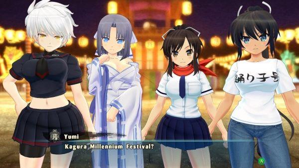 Senran Kagura: Estival Versus for PC and 'Battle Vixens' DLC launch March 17