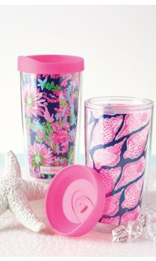 Insulated Tumbler With Lid Set - Lilly Pulitzer