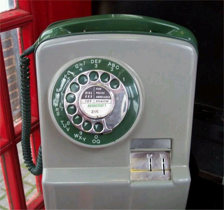 I remember when it was full of coins and you put one in to make a call loads would fall out the bottom, you could also reverse the charges as well