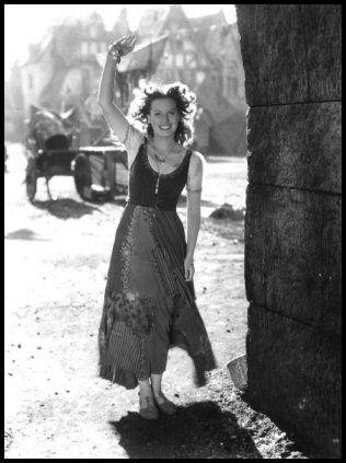Maureen O´Hara jako Esmeralda