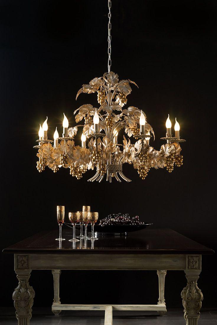 vine product antique hayneedle circeo white chandelier elk master in cfm lighting