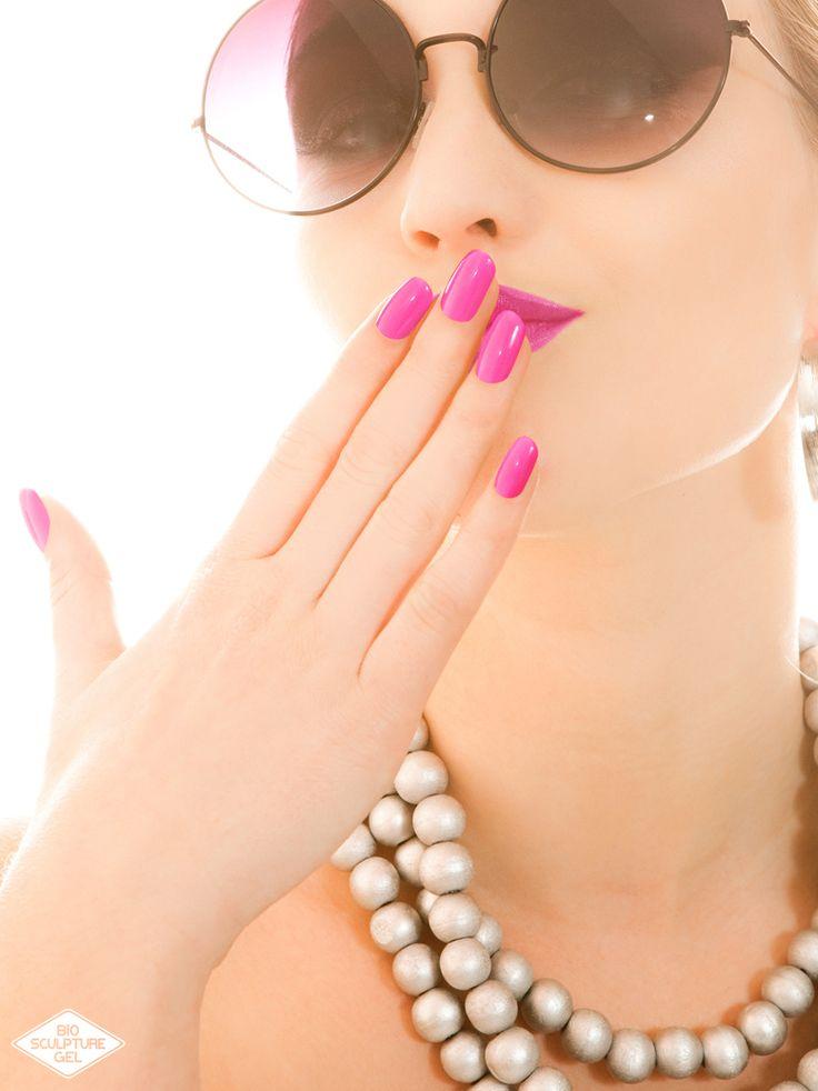 Bio Sculpture Gel Pienk Nails - Nail Shapes