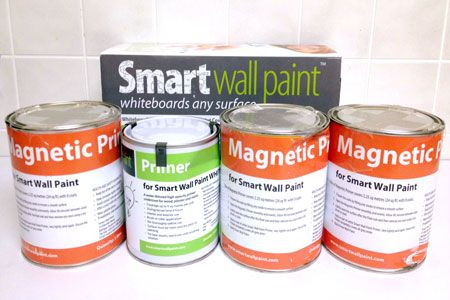 Smarter Surfaces has expanded the possibilities by creating a kit for magnetic whiteboard surfaces. We tried it out.