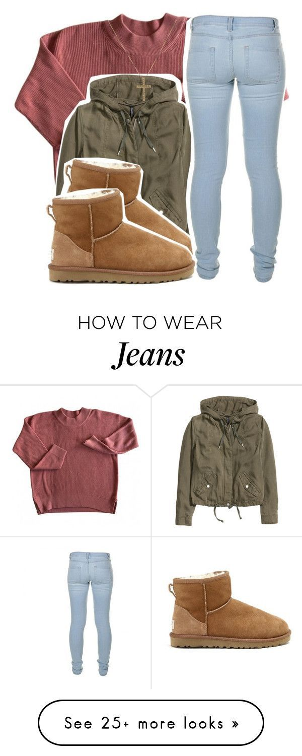 """""""4/23/16"""" by lookatimani on Polyvore featuring H&M, UGG Australia and Marc by Marc Jacobs"""