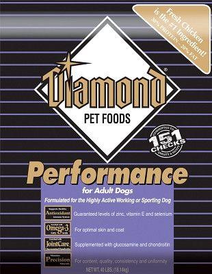 DIAMOND DOG DRY - DIAMOND PERFORMANCE DOG - 20LB - DIAMOND PET FOODS - UPC: 74198011209 - DEPT: DIAMOND