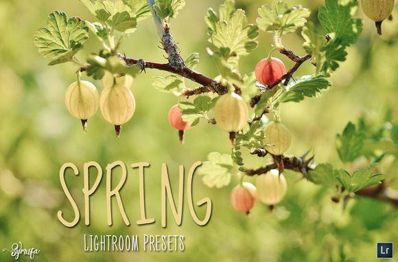 50 Spring Lightroom Presets @creativework247