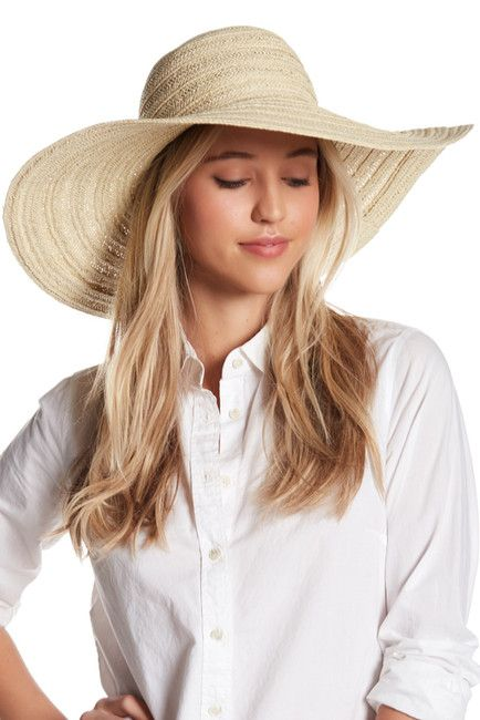 d0ca0136 Melrose and Market | Embroidered Wide Floppy Hat | Photoshoot ...
