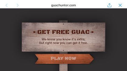 Chipotle mixes mobile coupons with gaming to win back