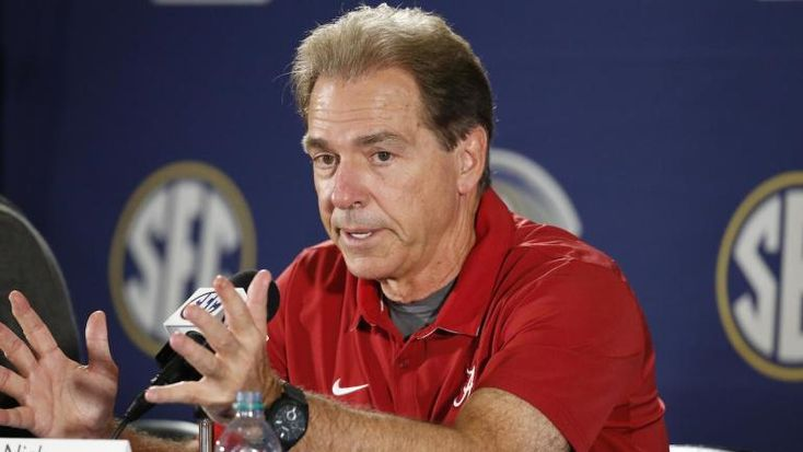 Hey recruits, don't expect Nick Saban to eat your mom's home-cooked dinner