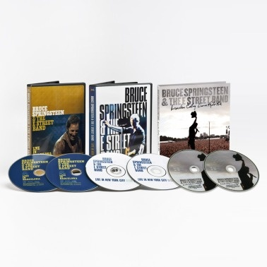 Bruce Springsteen - Live DVD bundle   http://www.popmarket.com/bruce-springsteen-live-dvd-bundle/details/5764944?cid=social-pinterest-m2social-product_country=US=share_campaign=m2social_content=product_medium=social_source=pinterest  $26.99