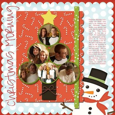 """This page gave me an idea for a Christmas card: instead of candy cane paper, angel paper foundation. Then build the tree of circles: Magi, shepherds, and animals in the bottom three, Mary and Joseph in the middle two, and the Baby Jesus in the top circle. Put the star of Bethlehem up on top. All it would have to say inside is """"Merry Christmas."""""""