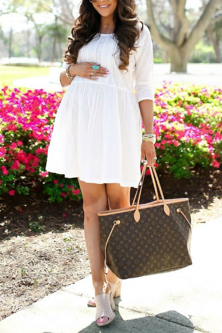 DRESS: Current Elliot | MULES: Dolce Vita | SUNGLASSES: Chloe | WATCH: Michel …   – Most Popular Pinterest Outfits for Summer