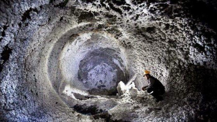 Undergound labyrinth in Dobrogea