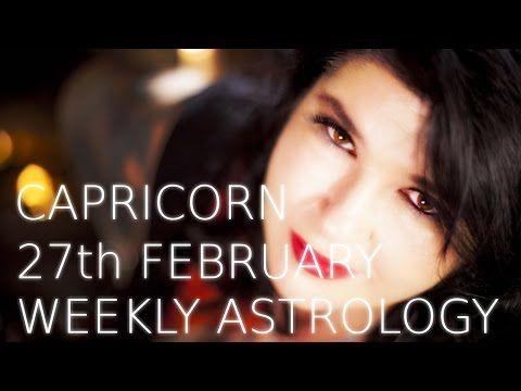 Your Horoscope: Capricorn Weekly Astrology Forecast 27th February ...