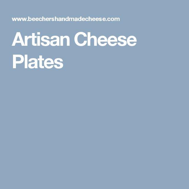 Artisan Cheese Plates