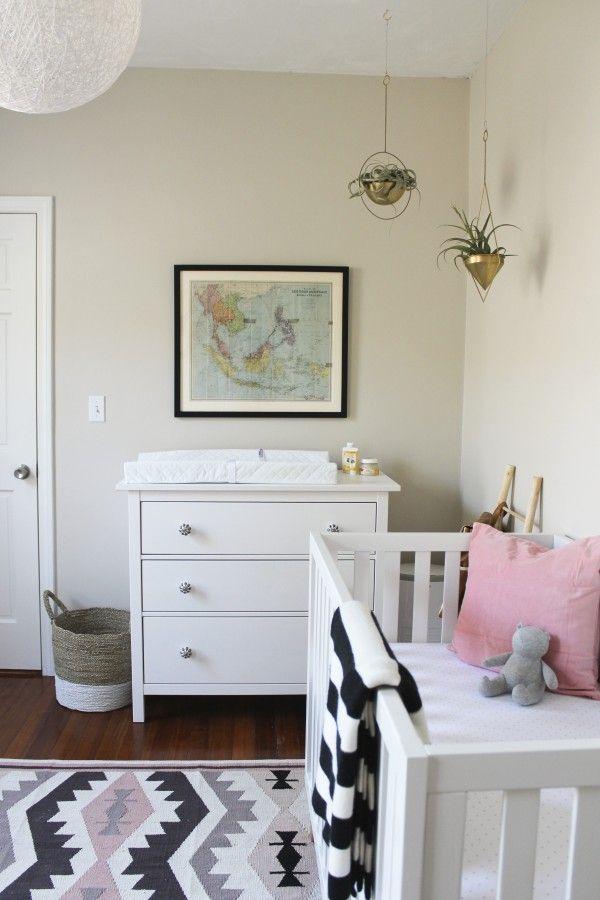 Oh I Design Nursery Tour Ikea Dresser Benjamin Moore