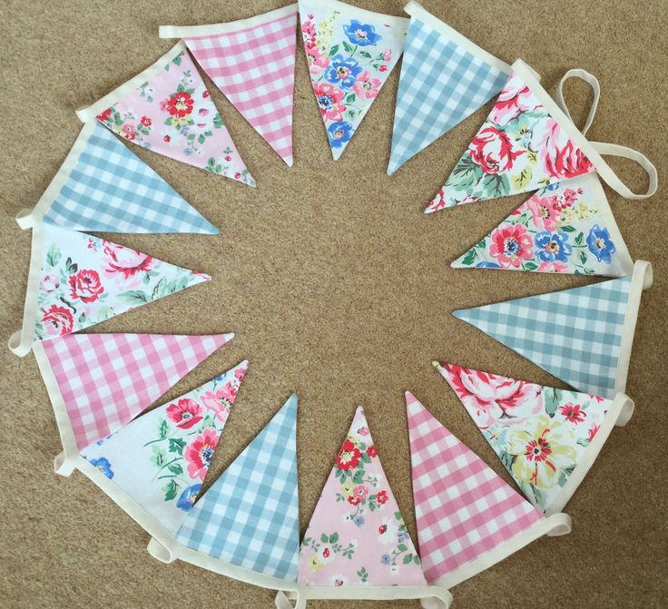 Fabric is Cath Kidston and Laura Ashley.