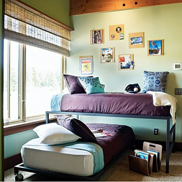 Blue purple teen girl bedroom room decor pinterest for Blue purple bedroom ideas