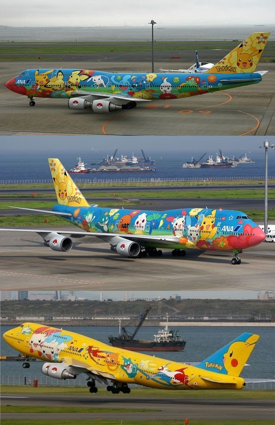 Oh my gosh. If I flew on this plane I might just die of awe...: Stuff, Pokémon, Funny, Catch On, Things, Pokemon Airplane, Planes, Pokeplane, Pokemon Plane