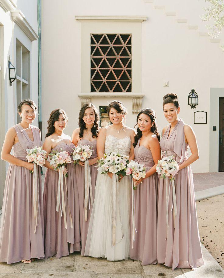 Blush Wedding: Purple + Blush Pasadena Wedding: Tabitha + Loren