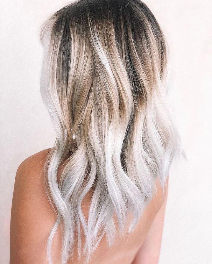 Gegrillte Kokosnuss Farbung Der Haartrend Des Herbstes Haarfarben Blond Werden Coole Frisuren