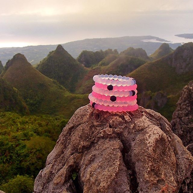 Finding the perfect balance. Finding the perfect cure. Order your pink lokai and join the fight.
