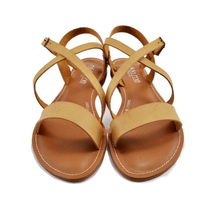 All leather, fits with anything, why not get it? <3 #summer #sandals