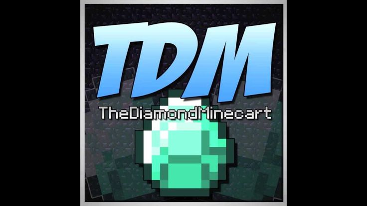 1000 images about dan tdm on pinterest minecraft - Diamond minecart theme song ...
