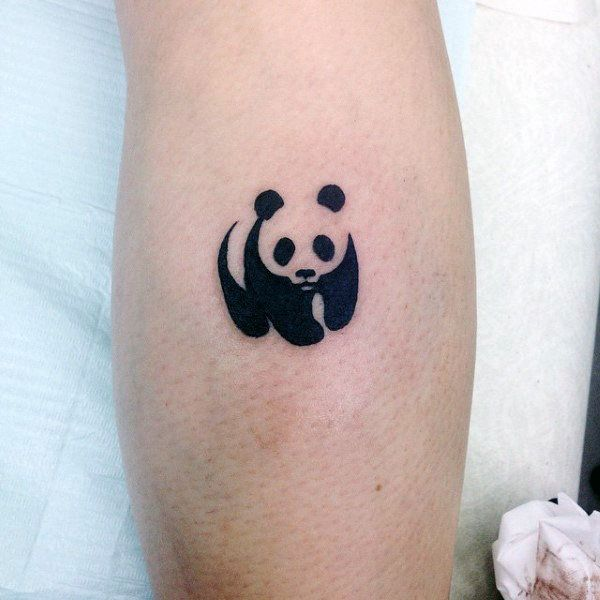 Panda Body Paint Design