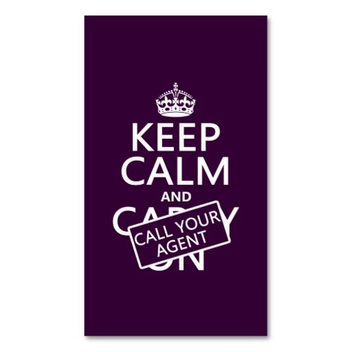 The 25 best keep calm template ideas on pinterest keep calm keep calm and call your agent any color business card pronofoot35fo Gallery