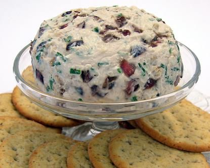 Blue Cheese and Cherry Cracker Spread