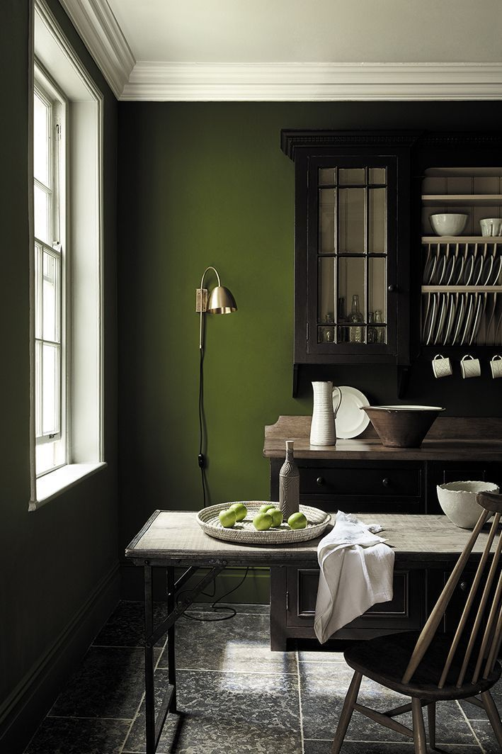 How To Decorate With Green Paint Colours The New National Trust Collection By Little Greene Painting Tips Tricks Interior Home Colors