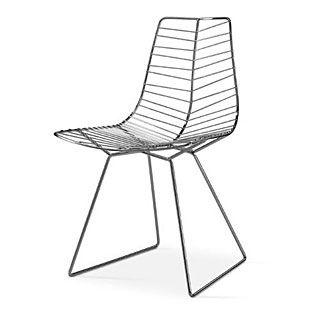 De Leaf chair is een design van Lievore Altherr Molina voor Arper. De zithoogte is 45.5cm.  De stoel is geïnspireerd op een blad van een boom. De stoel heeft dan ook de structuur van een bladnerf en is in drie kleuren te verkrijgen.  Mocht u meer informatie wensen over de Leaf chair, neemt u dan contact met ons op, dan zorgen wij voor de aanvullende informatie omtrent de Leaf van Arper.    € 299.00