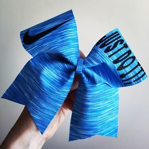 Neon Sunset Spandex Just Do It Nike Swoosh Cheer Bow Hair Bow Softball Cheerbow - Google Search