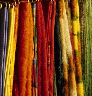 Brun de Vian-Tiran ~ for eight generations, Brun de Vian-Tiran has been making blankets with the most beautiful fibers sourced from all around the world. Blankets, comforters, plaids, shawls, stoles and scarves sell well both in France and overseas. #Provence #Isle_sur_Sorgue #Brun_de_Vian_Tiran
