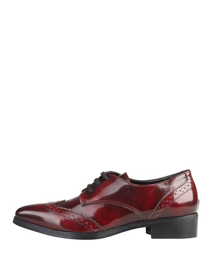 Versace 1969 abbigliamento sportivo srl milano italia scarpe - scarpa donna - tomaia: eco pelle, sottopiede: pelle , suo - Stringata donna monique Rosso