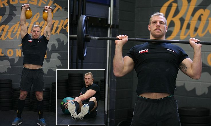 Get fit in 2014 - no matter your age! International rugby star James Haskell shows MailOnline readers how