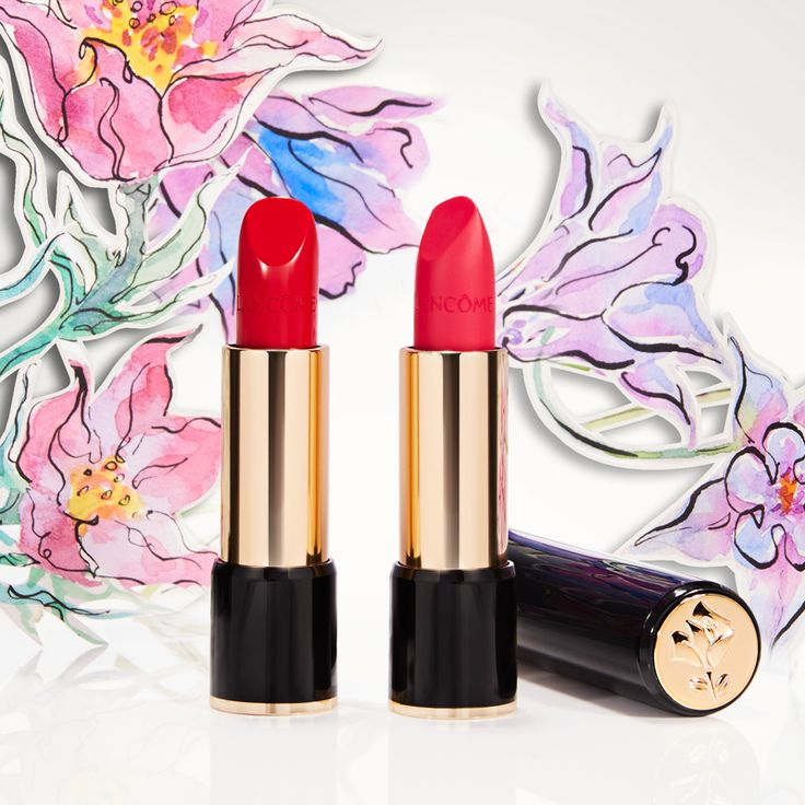 Whether you're a Happy Rose or a bit Impertente, Lancôme's L'Absolu Rouge shows off who you are in lip colour. #lancome