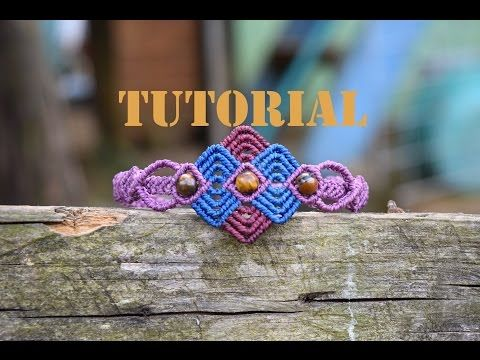 Flor 3 / ♥︎ Tutorial de macramé | DIY | Paso a paso - YouTube