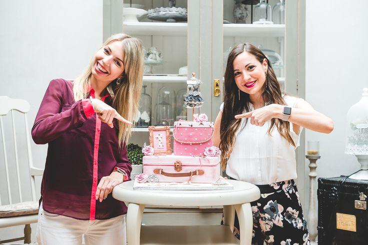 ALREADY ONE YEAR | Lymi Fashion, Fashion, beauty & Lifestyle Blog #cake #birthday #oneyear #anniversaire #gateau #blog #pink #shabby