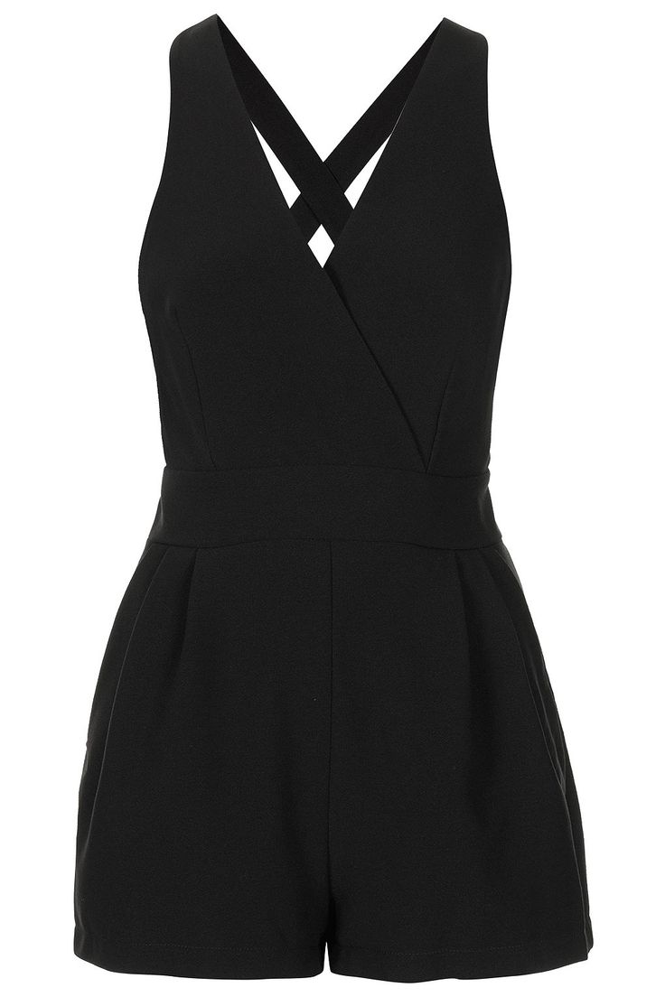 **CROSS BACK PLAYSUIT BY LOVE