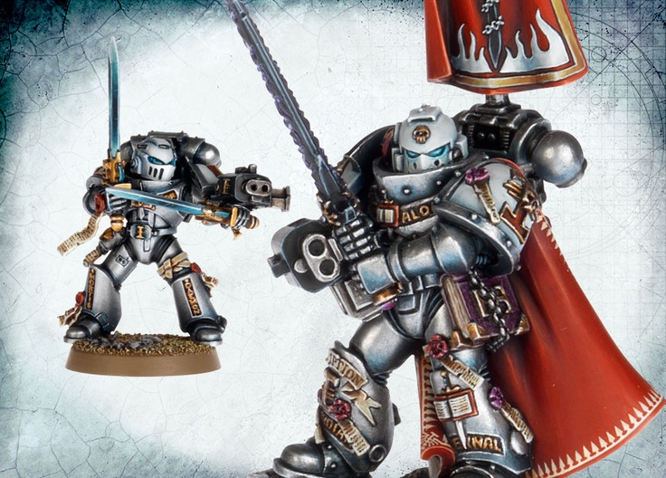 40k - Grey KnightsGrey Knights, Warhammer, Painting Inspiration, Inner Geek, Maquette Miniatures, Lobsters, Gadgets Envy, Chinglish Charms, Gadgets App