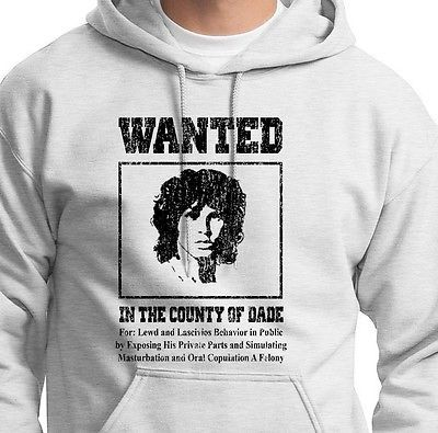 JIM MORRISON The Doors WANTED T-shirt county of Dade Poster Rock Tee Hoodie & 94 best Jim Morrison/The Doors images on Pinterest | Jim o\u0027rourke ... Pezcame.Com