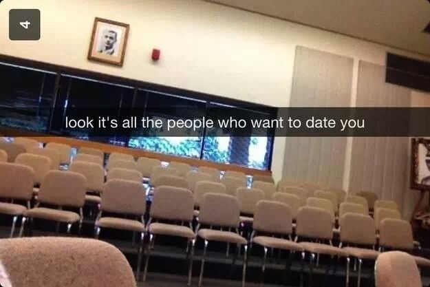 This painfully honest Snapchat. | 29 Snapchats That Are Too Clever For Their Own Good