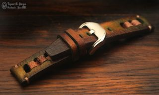 Topouzelli Straps : Leather watch strap. Handmade. T 872