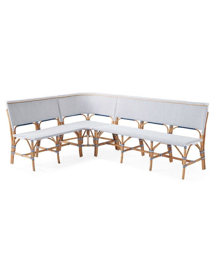 Serena Lily Riviera Banquette L Shaped Banquette Greatindoors Lily Lshaped Riviera Serena Outdoor Furniture Bench Dining Sofa Sofa Dining Table
