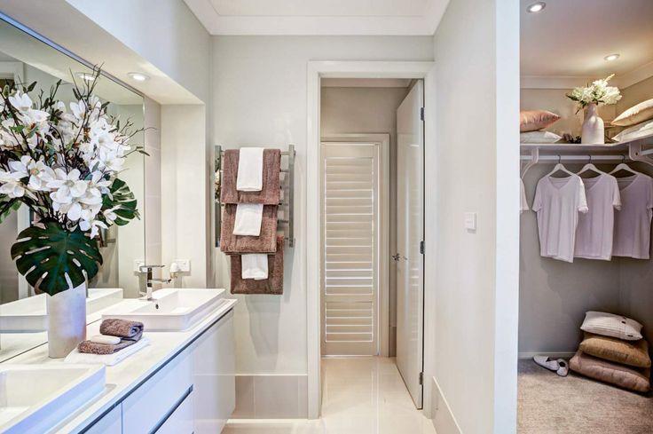 Ensuite and Walk In Robe - The Montego - North Lakes Display Village, Brisbane | McDonald Jones Homes
