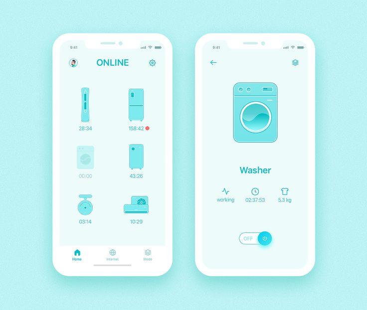 Smart Home App - iPhone X on Behance